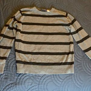 Children's Place Grey Black Sweater Size M 7/8